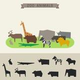 Animales del parque zoológico Fotos de archivo