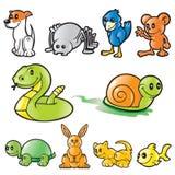 Animales del vector Fotografía de archivo