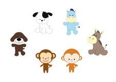 Animales del vector Imagenes de archivo