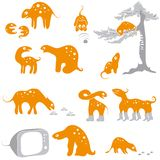 Animales divertidos Libre Illustration
