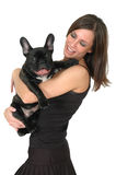 Animales domésticos felices Imagen de archivo