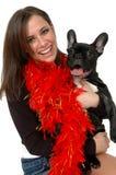 Animales domésticos felices Imagen de archivo libre de regalías