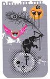 Animales - elefante y perro 3 Imagen de archivo libre de regalías