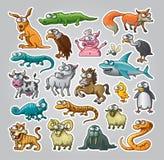 Animales fijados Fotografía de archivo