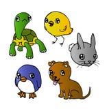 Animales lindos libre illustration