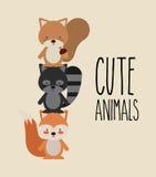 Animales lindos Foto de archivo libre de regalías