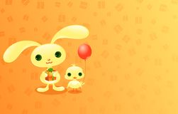 Animales lindos del bebé. stock de ilustración