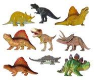 Animales prehistóricos de Dino Fotografía de archivo