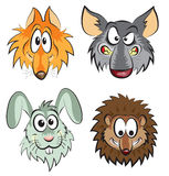 Animales salvajes Imagen de archivo libre de regalías