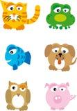 Animales (vector) Imagen de archivo