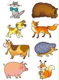 Animali illustrazione vettoriale