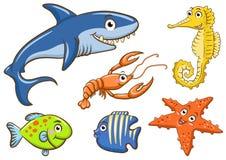 Animali acquatici illustrazione di stock