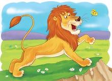 Animali africani Coccodrilli svegli Illustrazione per i bambini immagine stock