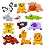 Animali africani del giocattolo Immagini Stock Libere da Diritti