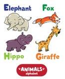 Animali alfabeto o ABC Fotografia Stock Libera da Diritti