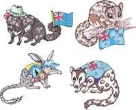 Animali australiani Immagini Stock