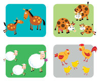 Animali da allevamento illustrazione di stock