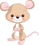 Animali da allevamento mouse Fotografia Stock Libera da Diritti