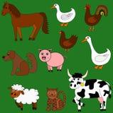 Animali da allevamento svegli illustrazione di stock