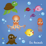 Animali dell'acqua Immagine Stock Libera da Diritti