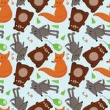 Animali 1 della foresta Immagine Stock