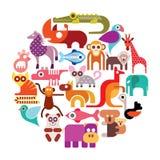 Animali dello zoo Fotografie Stock