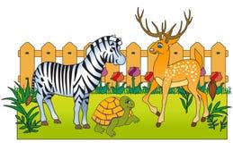 Animali dello zoo Illustrazione di Stock