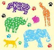 Animali di divertimento Fotografie Stock