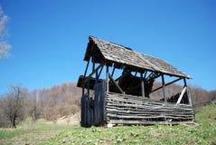 Animali di legno abbandonati del granaio Fotografia Stock Libera da Diritti
