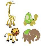 Animali di safari Immagine Stock