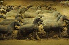 Animali dipinti delle terraglie immagini stock libere da diritti