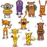 Animali divertenti (2) Immagine Stock Libera da Diritti