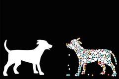 Animali domestici farmaceutici delle pillole del cane Immagini Stock