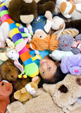 Animali farciti Fotografia Stock Libera da Diritti