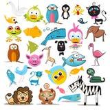 Animali impostati Raccolta dell'animale di vettore royalty illustrazione gratis