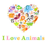 Animali Lv Fotografia Stock