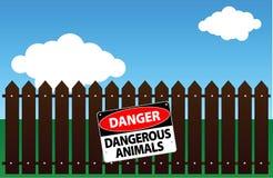 Animali pericolosi Fotografia Stock