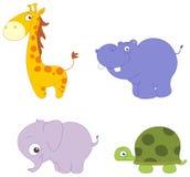 Animali svegli illustrazione di stock