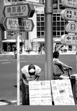 Animalist. In the street of Tokyo Stock Image