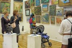 Animalists καλλιτεχνών έκθεσης σύγχρονης τέχνης Στοκ Εικόνες