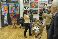 Animalists καλλιτεχνών έκθεσης σύγχρονης τέχνης Στοκ Φωτογραφία