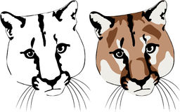 Animals-02. The simplified contour of a animal. The image is executed in program Illustrator CS2 Stock Illustration