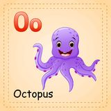 Animals alphabet: O is for Octopus Stock Photo