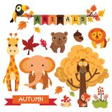 2018-07-01 Animals autumn vector illustration