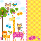 Animals background Stock Photo