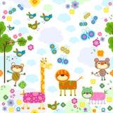 Animals background Stock Photos