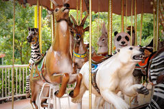 Animals carousel Royalty Free Stock Photo