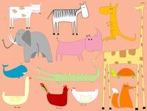 Animals cartoon Royalty Free Stock Image
