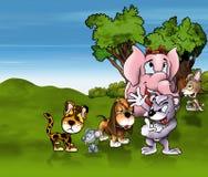 Animals Cartoon Royalty Free Stock Images