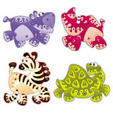 Animals cartoon 2. Animals stylized in cartoon Royalty Free Stock Images